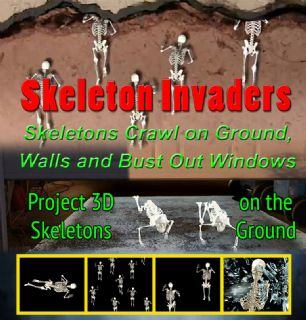 SKELETON INVADERS - DIGITAL DOWNLOAD OR USB